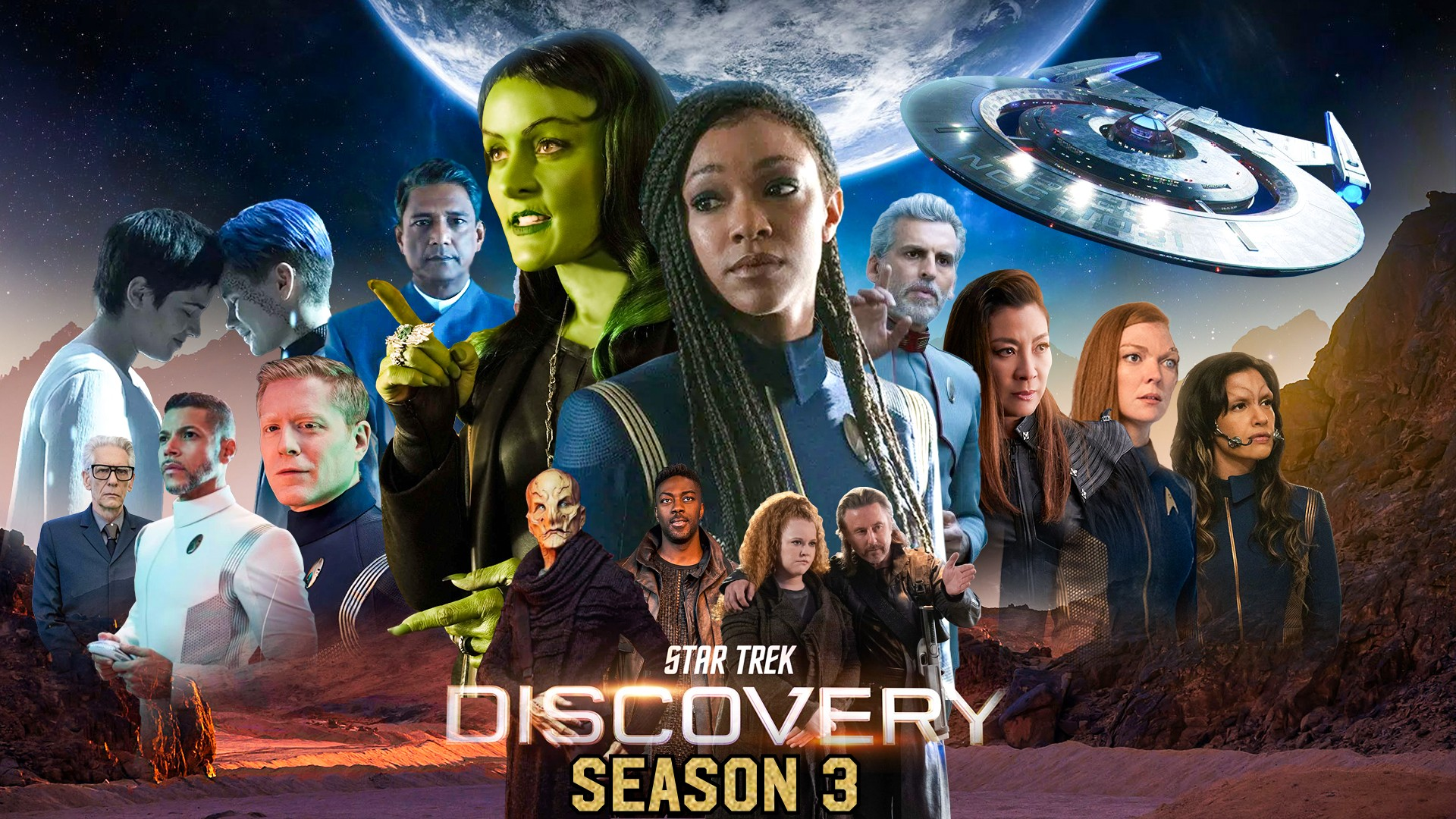 True Believers Connected in the Third Season of Star Trek: Discovery