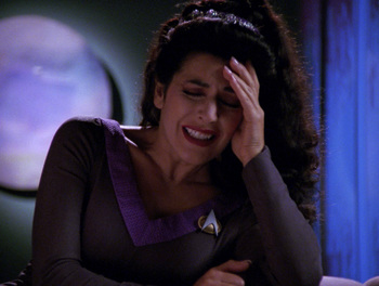 How the Character of Deanna Troi Helped Me Cope With My Sudden Deafness