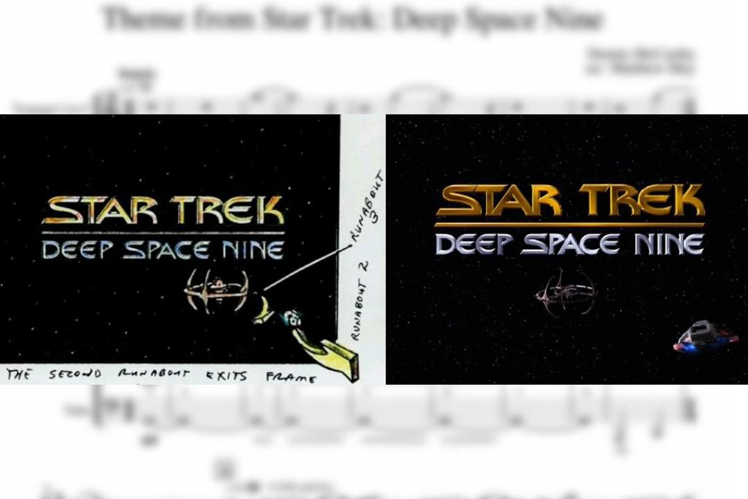 Designing DS9's Main Titles
