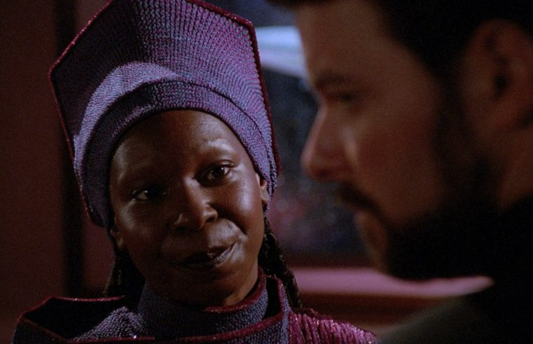 That is Now Your Chair: Loss, Grief, and Guinan